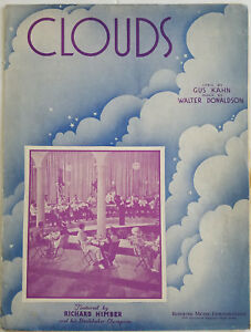 Clouds-1935-Sheet-Music-By-Gus-Kahn-amp-Walter-Donaldson