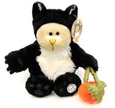 Starbucks Bearista Bear 41st Ed. Halloween Black Cat Costume 2005 with Tags