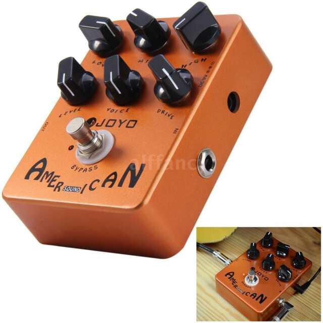 Joyo JF-14 American Sound Electric Guitar Amp Simulator Effects Pedal 3 Band EQ