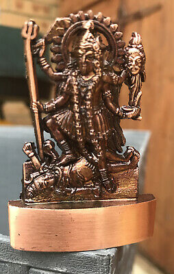 Kali bookmark Mother Kali metal bookmark