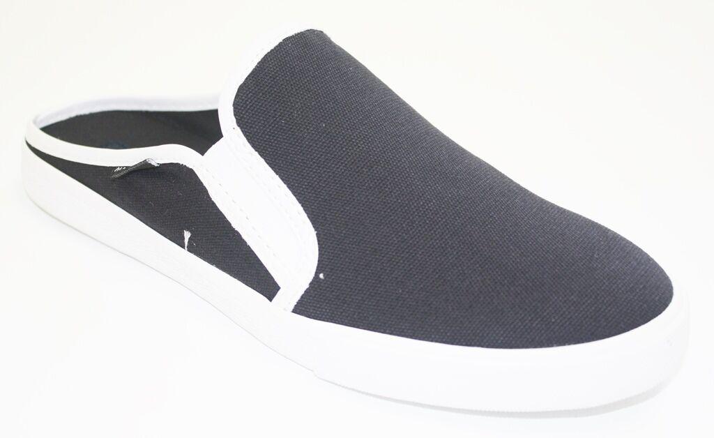 Women's Tommy Hilfiger FRANK 4 Slip On Fashion Sneaker Mule Canvas Black