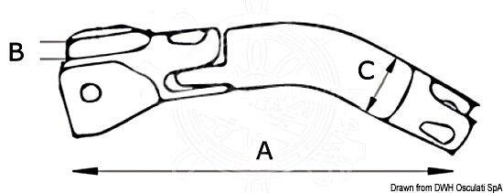 DOUGLAS MARINE mm Trimmer Ankerwirbel 6/8 mm MARINE 74c10d