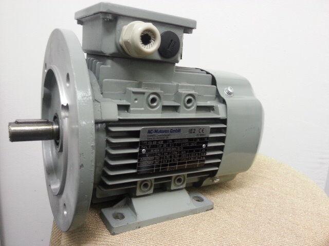 Elektromotor Drehstrommotor 0,37 kW 1500 U/min B3/B5 Volt 230/400 D/Y