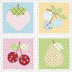 Sew Cherry 2 Circle Nutmeg by Lori Holt