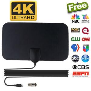 Antenna TV Digital HD Skywire 4K 300 Mile Range Antena Digital Indoor HDTV 1080p