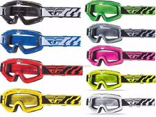 Fly Racing Focus Goggles Motorcycle Racing Dirt Bike MX ATV Adult & Youth '16-18