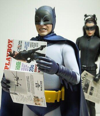 Batman Superman Clark Kent Supergirl 1//6 Scale Custom Playboy full interior