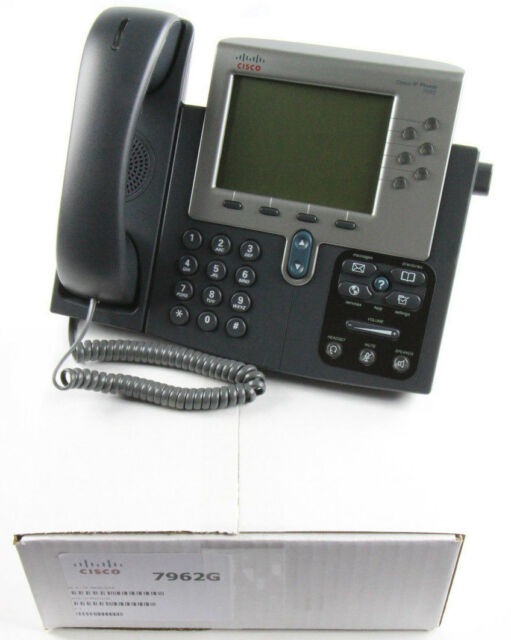 Cisco 7962G CP-7962G Unified IP VoIP Phones-Refurbished