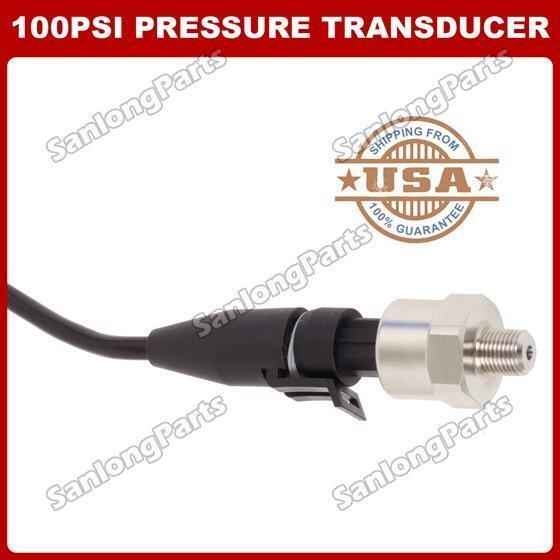 100 psi Pressure transducer/sender/sensor/Transmitter for oil/fuel/air/water