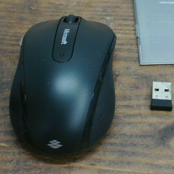 New Graphite Wireless Mobile Mouse 4000