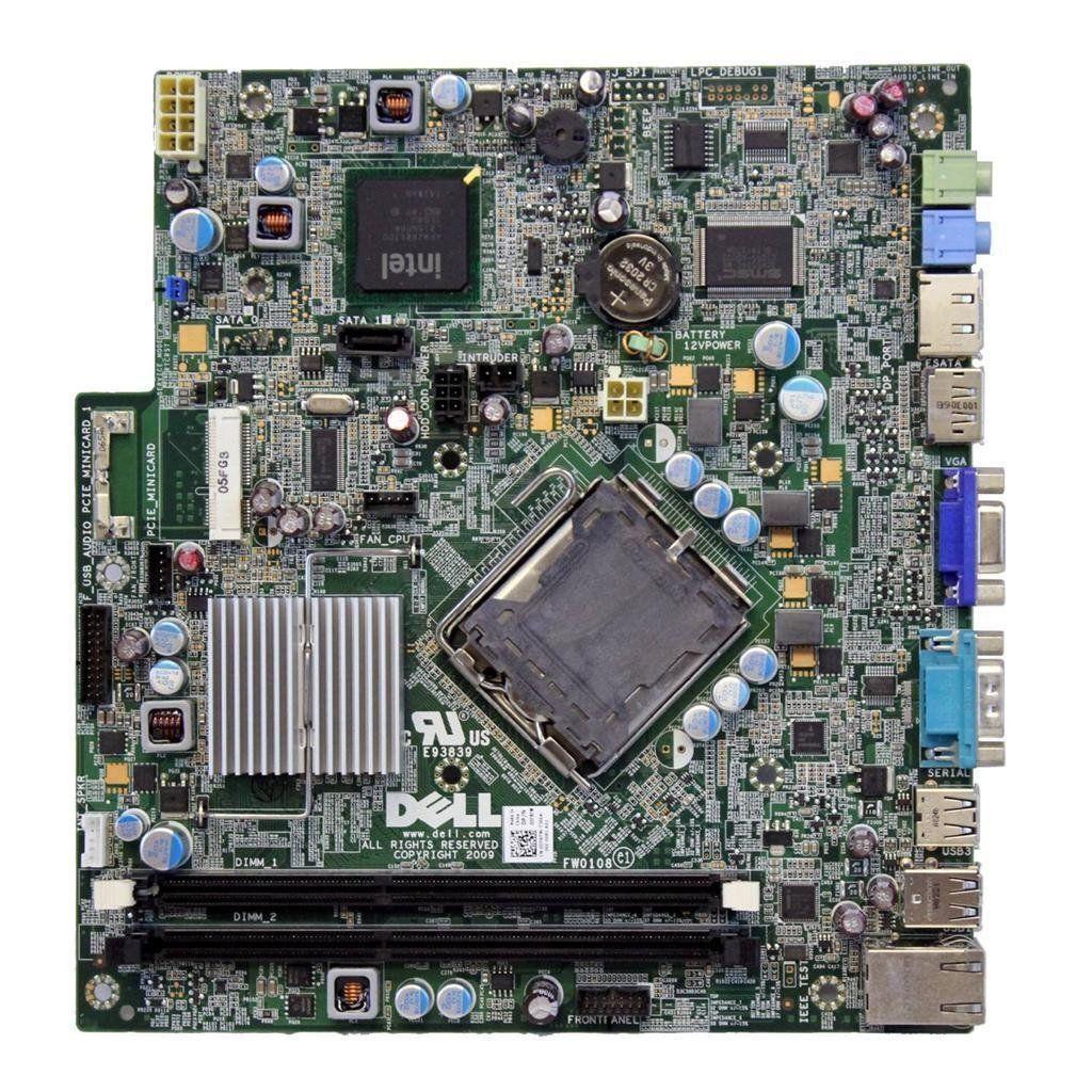 Tested OEM Dell DF131 MH415 PJ149 U8811 Motherboard for OptiPlex GX620 USFF