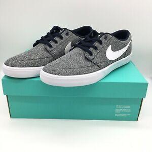 Nike Mens SB Solarsoft Portmore II Skateboard Shoes Obsidian Gray ...