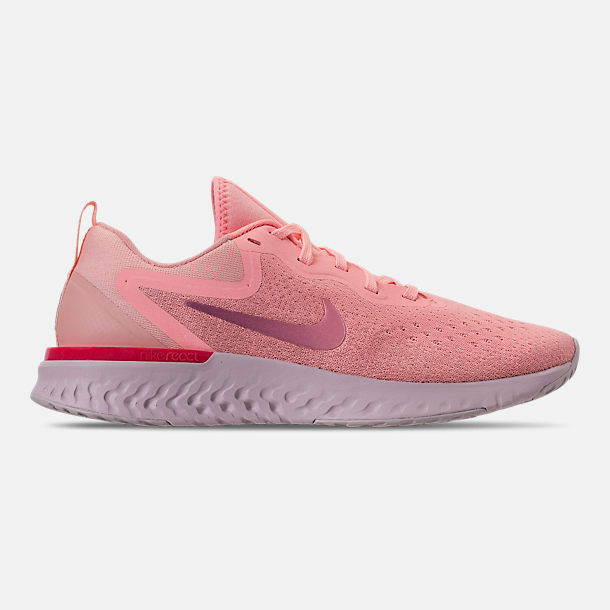 046ea463402f Authentic Nike Epic React Flyknit Pink Pearl Barely Rose Aq0070 600 Women  Sz 9 for sale online