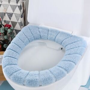Universal-Toilet-Seat-Cover-Lithe-Warm-Thickening-Coral-Fleece-Cushion-Washable