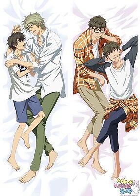New Junjou Romantica Male Anime Dakimakura Japanese Hugging Body Pillow Cover H2