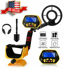 New Listingsailnovo 87 Deep Ground Metal Detector Lcd Gold Finder Waterproof Search Coillt