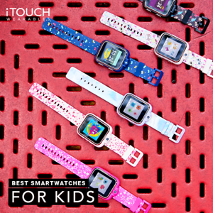 Playzoom Kids Smartwatch with Digital Camera and Video Recorder by iTouch