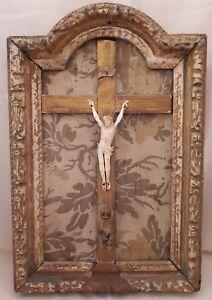 CHRIST-et-CADRE-d-039-epoque-Louis-XIV