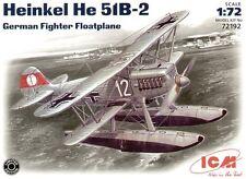 ICM 1/72 Heinkel He 51 B-2 Float Plane # 72192