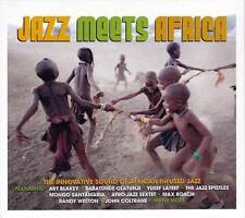 JAZZ MEETS AFRICA - THE INNOVATIVE SOUND OF AFRICAN INFUSED JAZZ  (NEW  3CD)