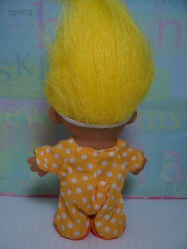 """NEW IN ORIGINAL WRAPPER EASTER CHICK//CHICKEN//DUCK 5/"""" Russ Troll Doll"""