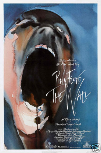 Pink Floyd The Wall cult movie poster print #2