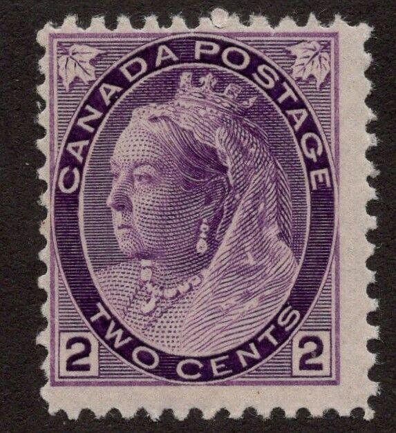 CANADA #76  2c   MNH OG  QUEEN VICTORIA