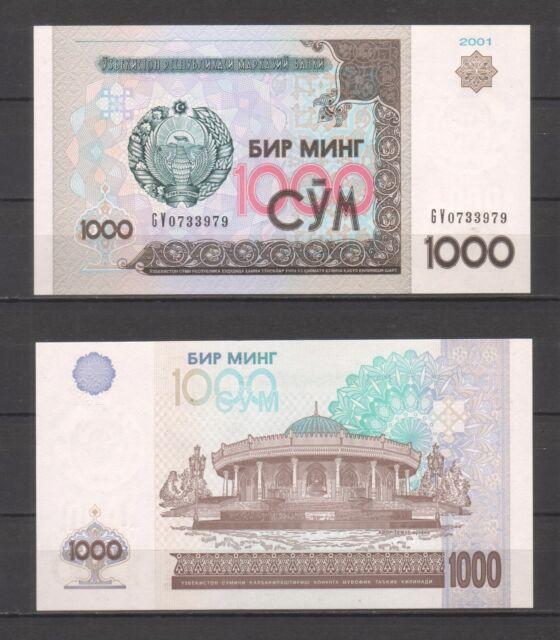 Usbekistan / Uzbekistan, 1000 Sum 2001, P82 UNC
