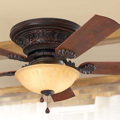 Ceiling Fan 3 Sd Pull Chain Bowl