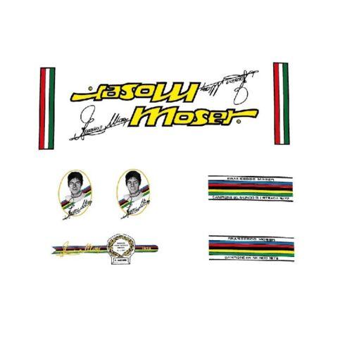 Trasferibili Presto Stile N.11 Francesco Moser Bicycle Decals Adesivi
