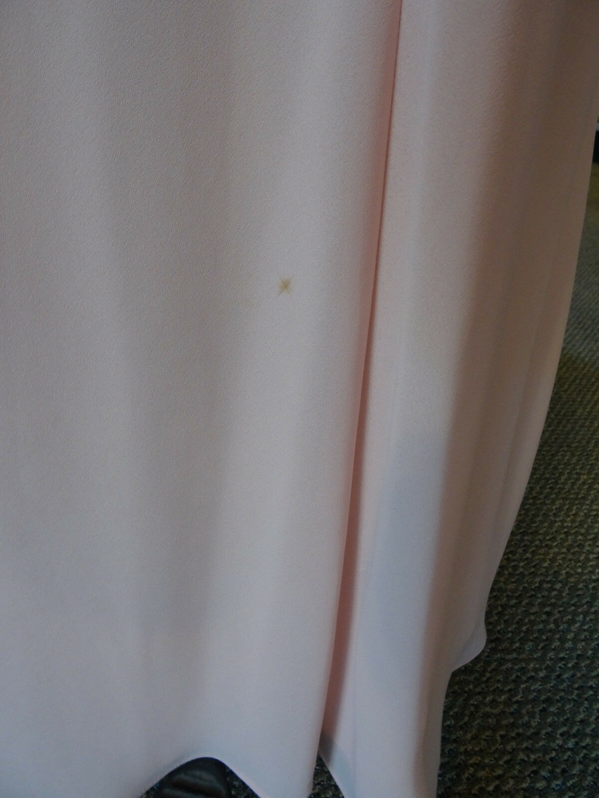Gunne Sax Pink Formal Sleeveless Dress, Empire Wa… - image 8