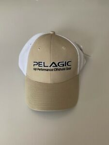 423253fb485bb Image is loading New-PELAGIC-Solid-Mesh-Back-Cap-Offshore-Fishing-
