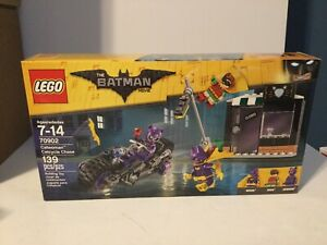 Sealed Box New Mint LEGO Batman Movie Catwoman Catcycle Chase 70902