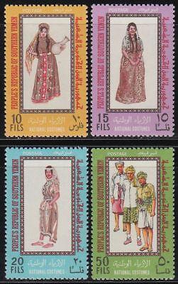 GüNstiger Verkauf Yemen Pdr 1970 ** Mi.66/69 Trachten Costumes Volk Folk Woman Clothes People Auf Der Ganzen Welt Verteilt Werden Briefmarken Mittlerer Osten