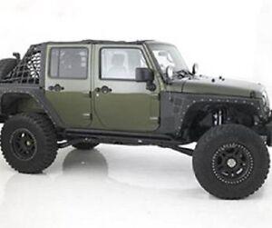 Smittybilt 2007-2017 Jeep Wrangler JK XRC Front Fenders Black ...