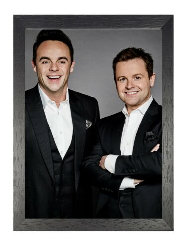 Ant And Dec 11 Smiling English Comedy TV Presenting Duo Stand Up Poster Portrait