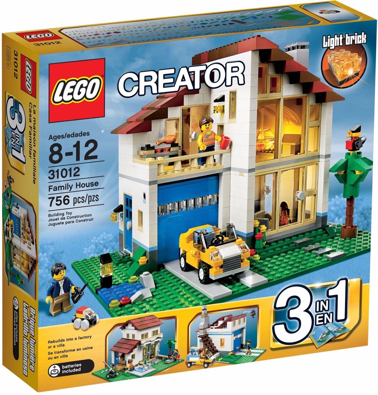 LEGO CREATOR MAISON FAMILIALE (6024466) Neuf