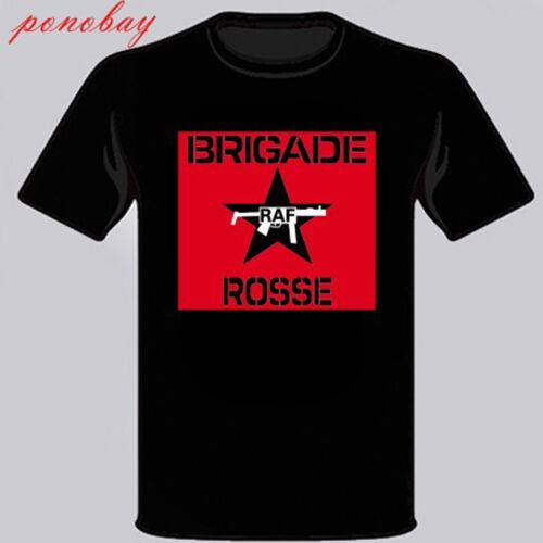 New Brigade Rosse Rock Band Men/'s Black T-Shirt Size S M L XL 2XL 3XL
