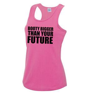 Booty-mas-grande-que-su-futuro-Chaleco-Camiseta-Top-Para-Entrenamiento-Fitness-JC015
