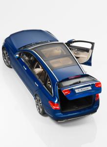 Mercedes Benz C-Class, Estate, AVANTGARDE brilliant bluee, Norev, 1 18 B66960257