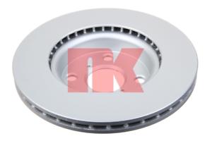 2 Pièce Disque de frein pelliculés-NK 3145115