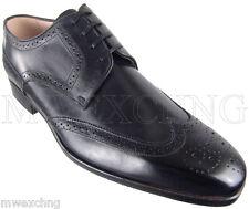 ZENOBI  WINGTIP BROGUE WINGTIP BUSINESS DRESS OXFORDS EU SIZE 42 MENS SHOES