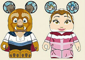 Disney D23 EXPO Vinylmation Beauty and the Beast set LE 1500