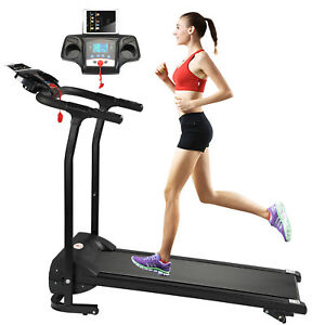 folding incline electric treadmill running motorized