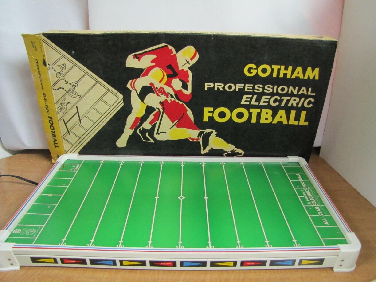 Gotham Professional Electric fotboll G -880 Fullständig w  låda och accessoarer  arbetssätt