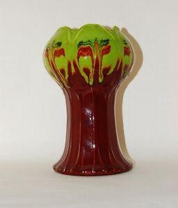 Vase-Laufglasur-Keramik-Renee-Neue-Hutschenreuther
