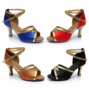 Niña Zapatos Bailando De La Latino Baile Mujer Sala Dama awd8wPqC