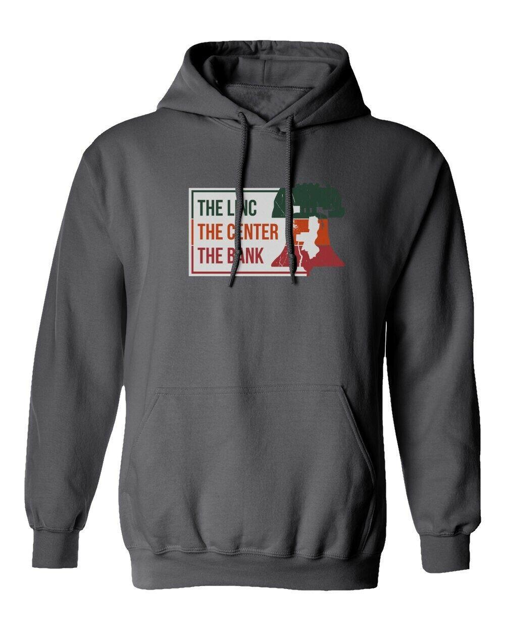 Philadelphia Eagles Flyers Phillies Stadium Men's Hooded Sweatshirt