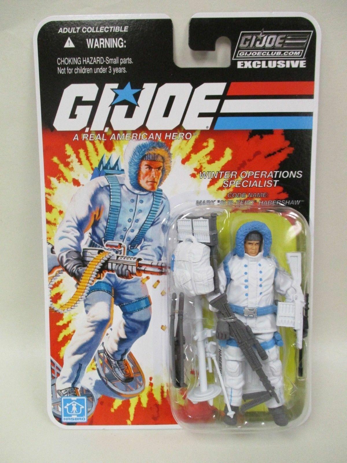 G.I.JOE EXCLUSIVE CLUB FSS 6.0  SUB-ZERO - WINTER OPERATIONS SPECIALIST