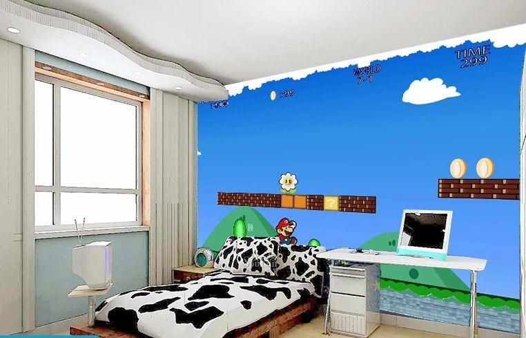 3D gioco 23 Parete Murale Foto Carta da parati immagine sfondo muro stampa